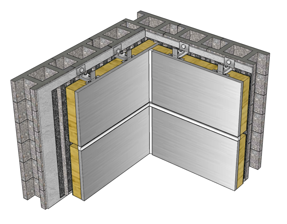 Thermal Panoply™ Inner Corner Joint