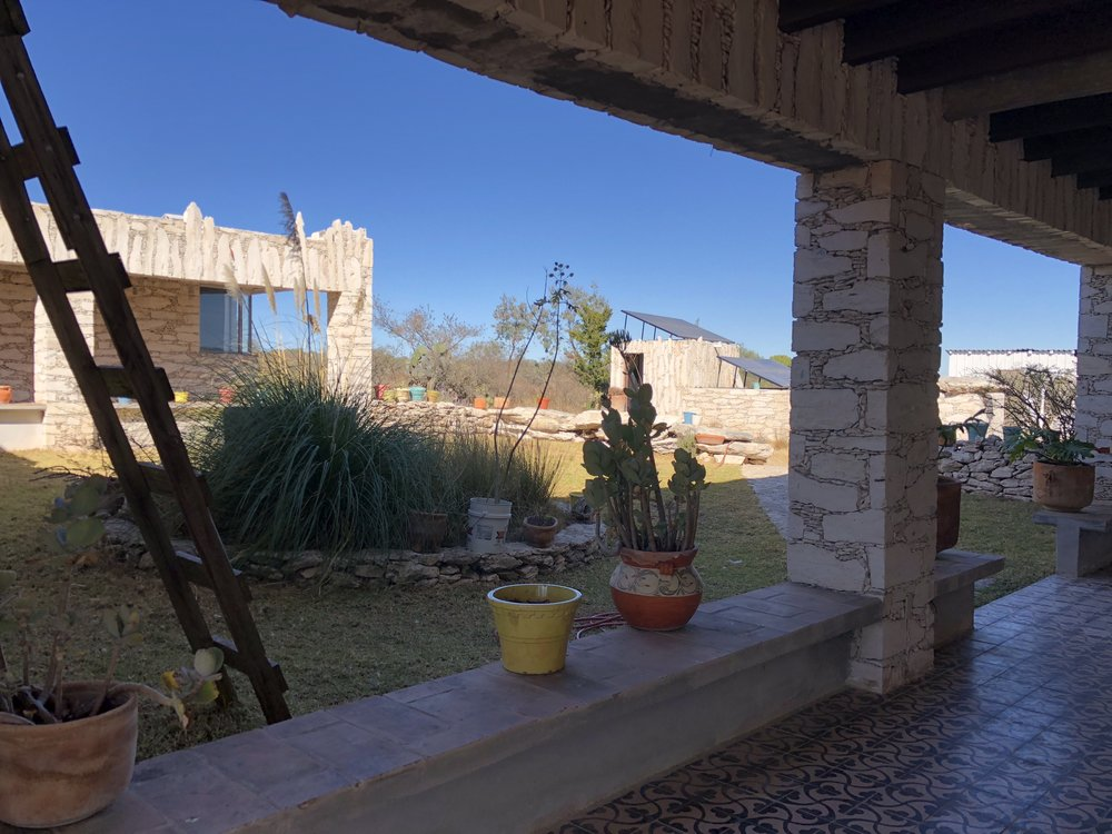 Sustainable ranch in Mineral de Pozos, where we might lunch in the campo....