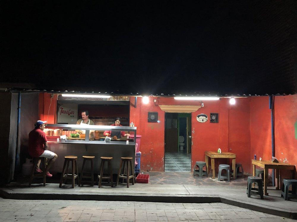 Local tacos. A la Edward Hopper...