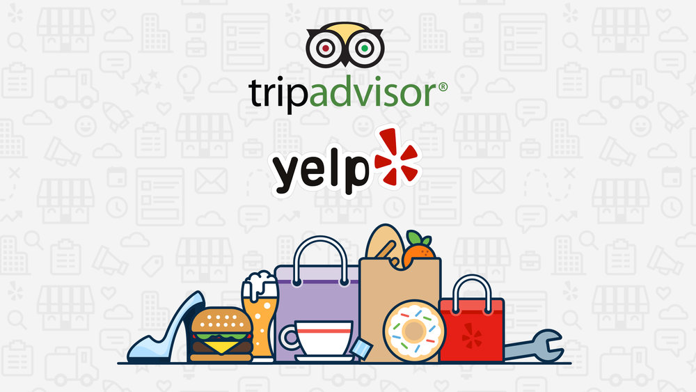 tripadvisor and yelp management on anna maria island florida - social media