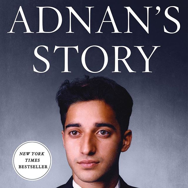 Hey all! Adnan's Story is only $2.99 today for the ebook! I just got my copy from the @BNBuzz website. Have you read this one yet? . . . . . #rabiachaudry #AdnanSyed  #truecrime #serialpodcast