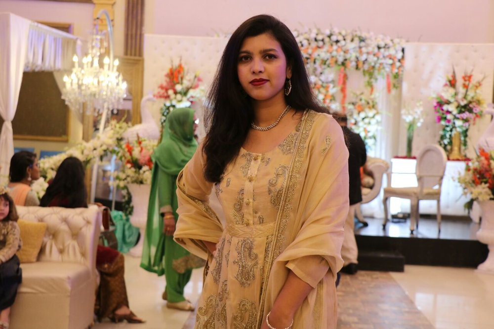 Huma Rana - PAKISTAN / A blogger who intends to bring a positive change in society through her words.