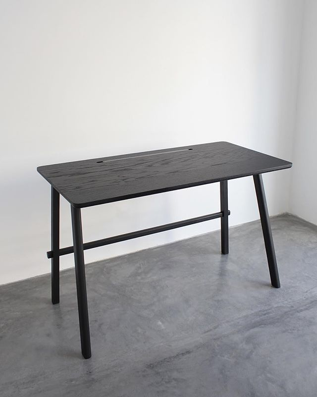 Kuro is a collection inspired by Japanese lines, simplicity and functionality, essential elements of our Studio when we design new pieces! Kuro inspire people like us that care about their work and comfortability. Javo desk is part of the new collection. Collaboration with Designer @alexramoroz  We are happy to introduce new pieces to our family!  _  #studio #black #palette #design #furnituredesign #furniture #details #inspiration #kuro #collection #blackened #shousugiban #technique #japanese #japanesedesign #art #photography #industrialdesign #wood #interiordesign #interiors #minimal #minimalism #concrete #contrast #vitra #desk #table #oak #encino