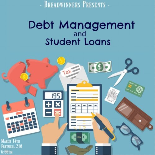 We covered the basics of debt management and different forms of debt. We then helped our audience understand the importance of establishing credit and being able to understand your credit score. We showed different student credit cards with affordable rates that would be good for first time credit users. We then finished with a Q&A with a campus financial officer giving students a chance to understand more about student loans and their payment process.