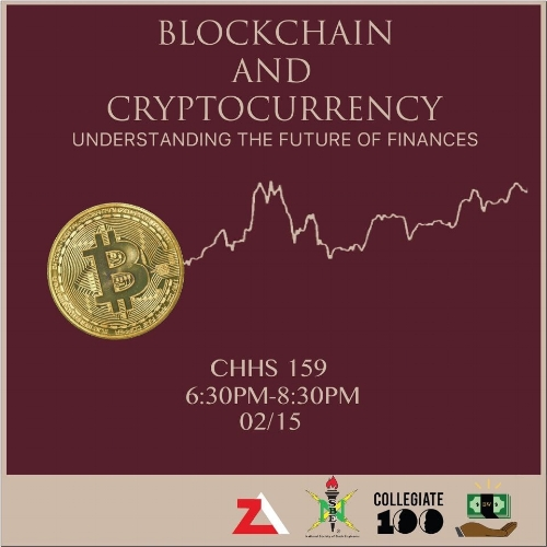 Kappa Alpha Psi Fraternity asked us to help them prepare a presentation on Blockchain and Cryptocurrency. This marked our first presentation as an organization. We began by explaining Blockchain technology, the key component to all cryptocurrencies. Following that, we spoke more about what exactly a cryptocurrency is, as well as how to read the charts at a foundational level.