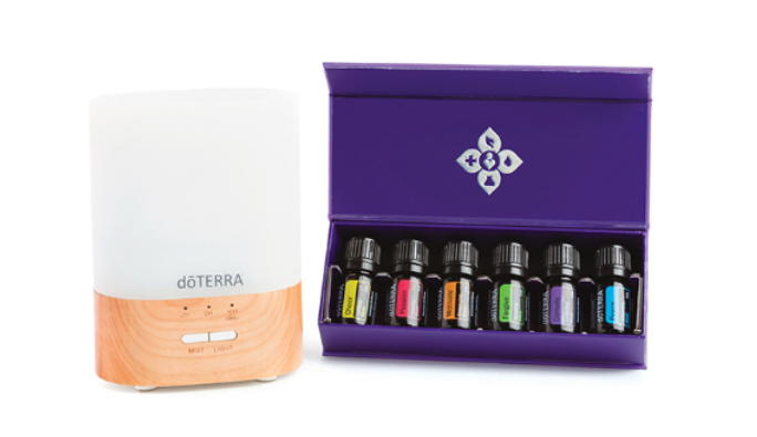 EMOTIONAL AROMATICS™ DIFFUSED KIT - ESSENTIAL OILS (5mL): • doTERRA Motivate® • doTERRA Cheer® • doTERRA Passion® • doTERRA Forgive® • doTERRA Console® • doTERRA Peace® .OTHER PRODUCTS: • Lumo Diffuser • doTERRA Essentials Booklet€228.35 / ~ Save €48.40