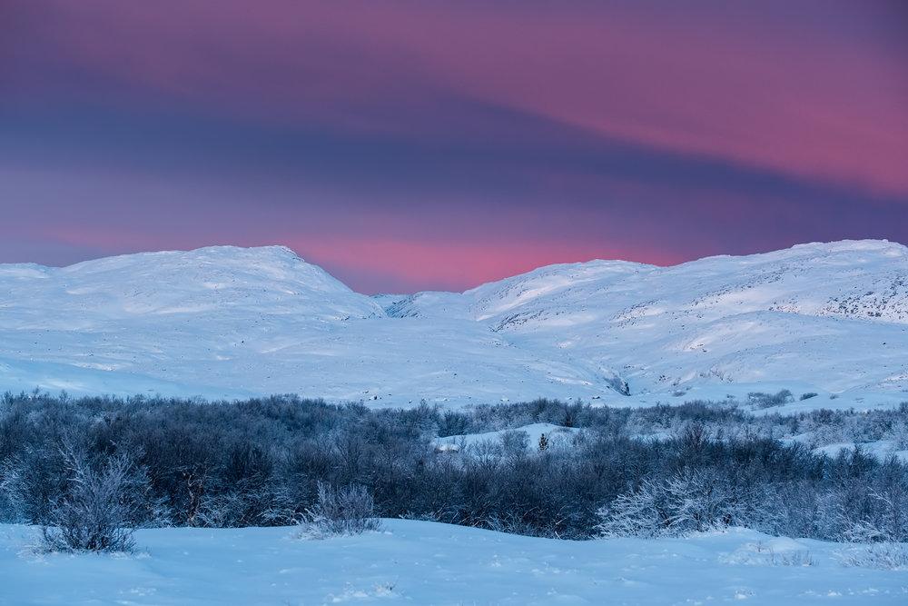 Arctic skies // Fujifilm X-T3 ISO 160 80mm f/5.6 1/45 sec