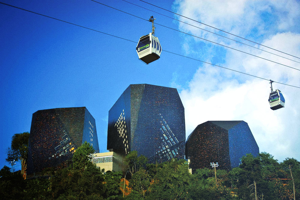 Culturally - Medellín has become notorious for its people's ability to come together and transform the way in which they live.
