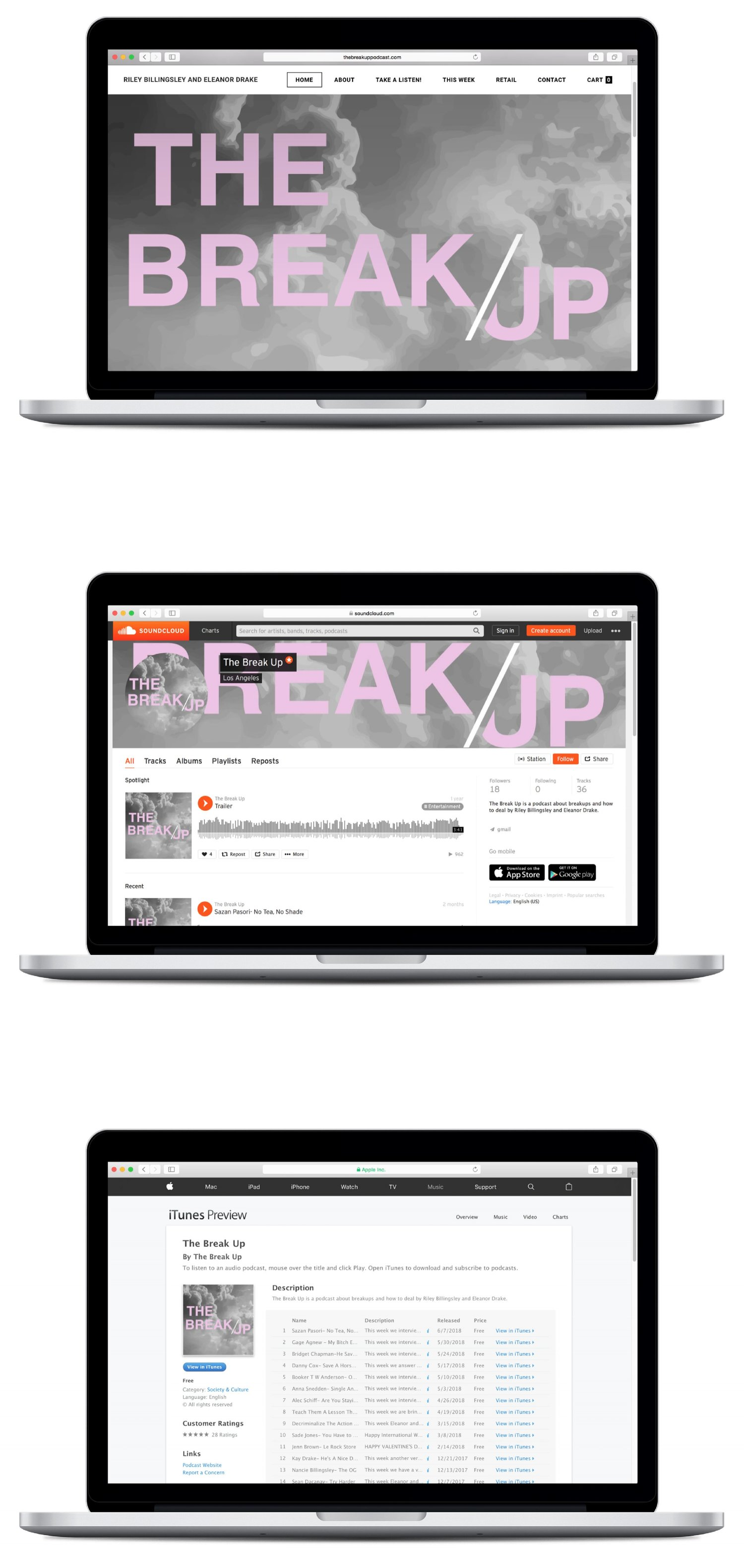 breakup website