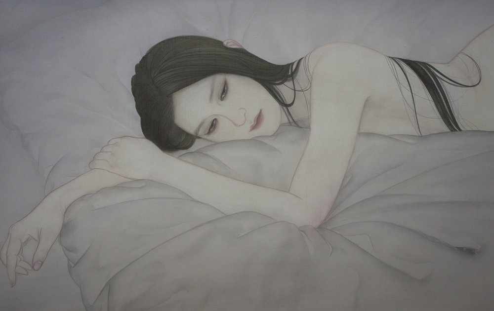Ayana Otake, Who is there_, 2019, h33.3 × w53.0 × d1.6cm.jpg
