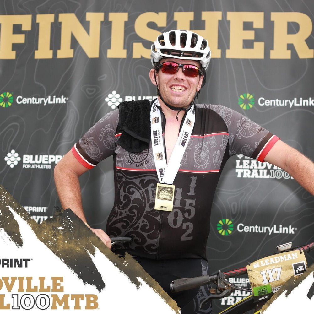 Brandon is a beast!  You can find him crushing all sorts of cycling trails in and around Leadville, CO.  He has knocked out the Leadville 100 Mtb multiple times and is no stranger to suffering on the bike.