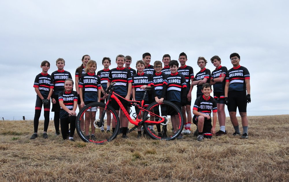 South Austin Middle School Bulldogs (Austin, TX)  Start 'em early!  It's never to young to be on a cycling team.  This team is full of talent!  They already have locked down a Texas state championship title.  Next time you see them out and about, they will likely be passing you!