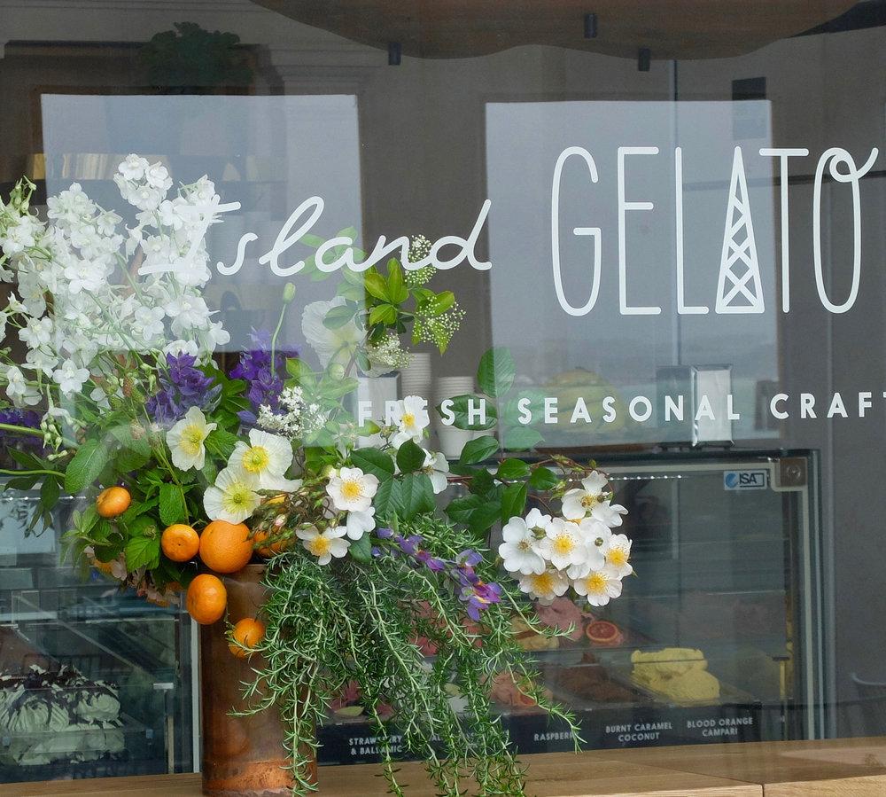 Island Gelato Opening