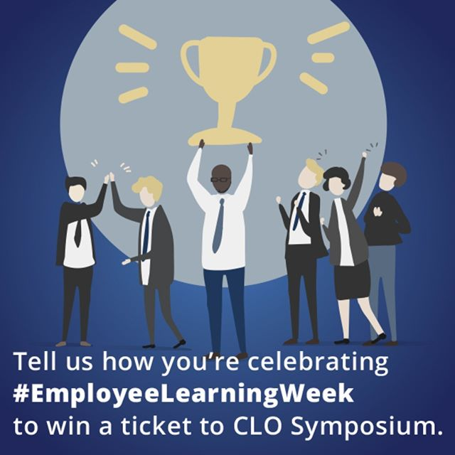 Celebrate learning with us and win a ticket to 2019 Chief Learning Officer Symposium (Spring or Fall – link in bio)! Follow the instructions below to enter: 1. Tell or show us how you're celebrating Employee Learning Week December 3-7  2. Use #EmployeeLearningWeek 3. Tag @chieflearningofficer Giveaway Rules: NO PURCHASE NECESSARY. Must be 18 years or older to enter. Winner must live in the US. Entries will be accepted until 11:59pm Pacific Time on Friday, Dec. 7. Winner will be chosen at random and announced on Monday, Dec. 10. Contest is not affiliated with Instagram.