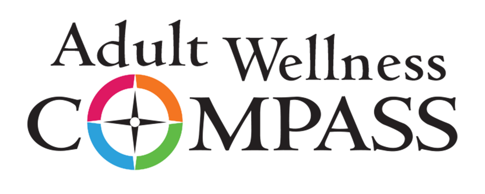 Adult Wellness Compass Logo