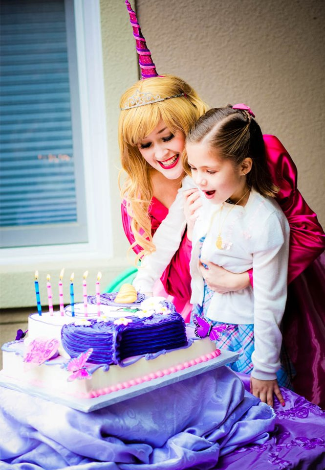 Princess Character Entertainer - Add A Princess Character to Your Party - Starts at $125 - Click HERE for Details