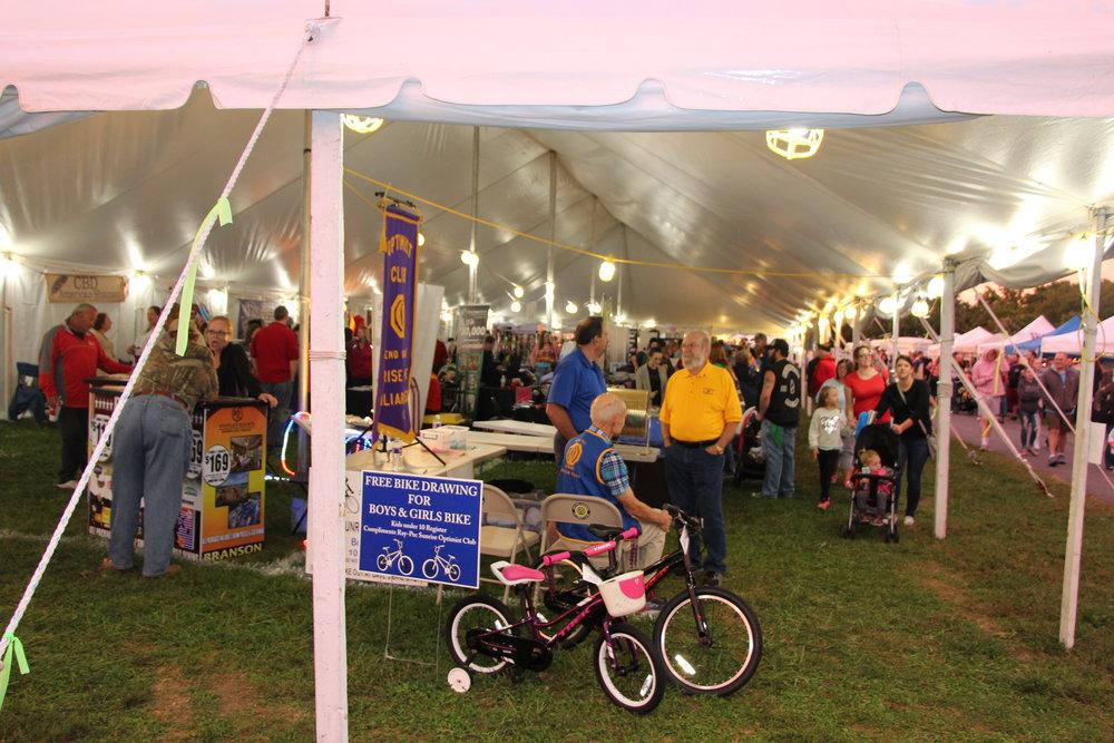 Vendor Tent