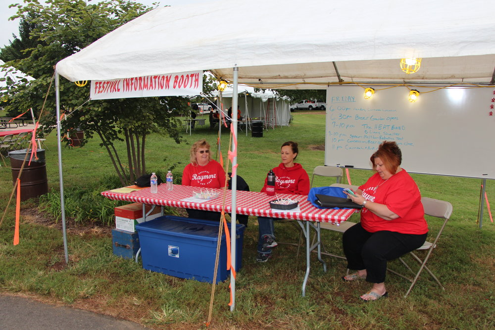Festival Information Booth
