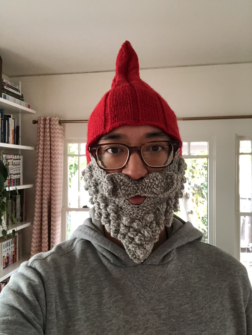 Christmas also means the gnome hat comes out