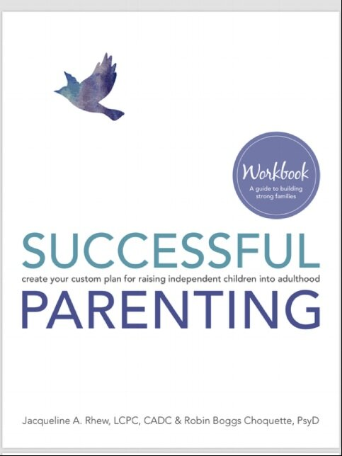 Now Available! - Visit our Publications page to purchase the Successful Parenting Workbook!