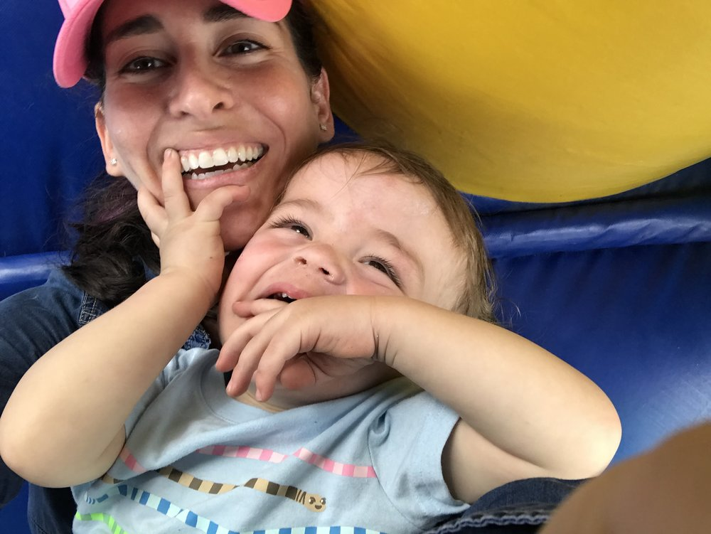 Proud mom of a sweet, curious and rambunctious 2 year old boy who happily keeps me on my toes. His current obsessions: Animals + Moana. He makes me melt when he looks into my eyes and says 'Mami, te amo' (Mommy, I love you) - puddle.  -