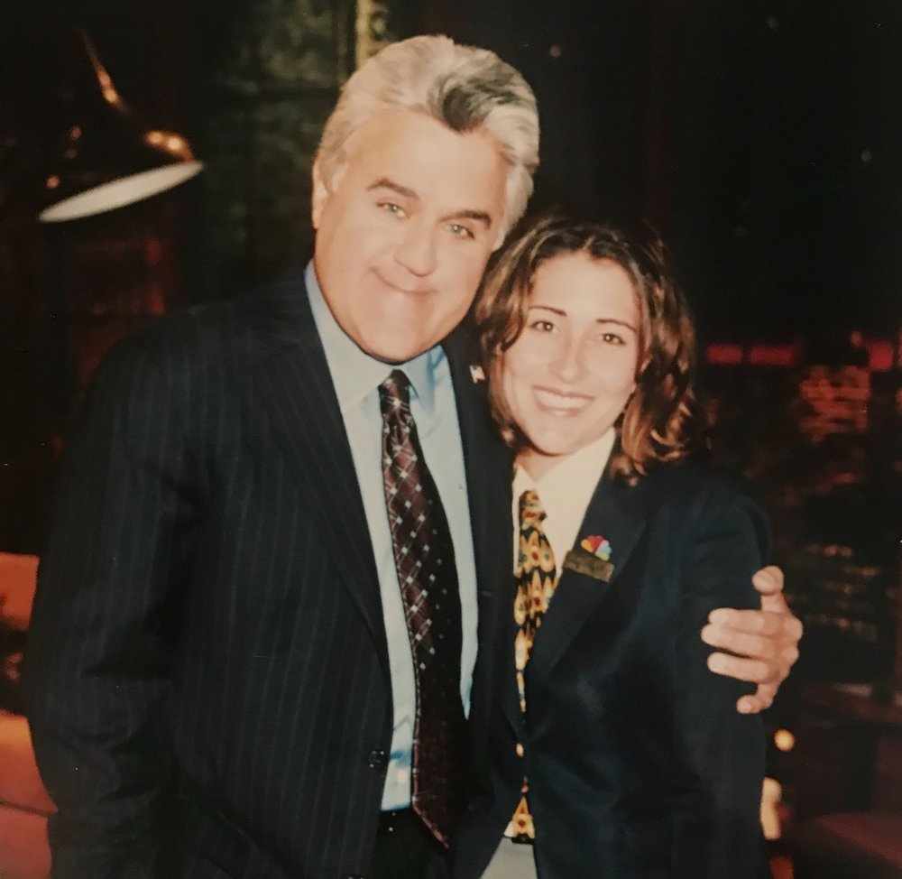 Former NBC Page, I gave tours of the NBC Studios (the place where I perfected talking and walking backwards at the same time) and worked on The Tonight Show with Jay Leno. I got to experience so many cool things, it was an amazing time. -