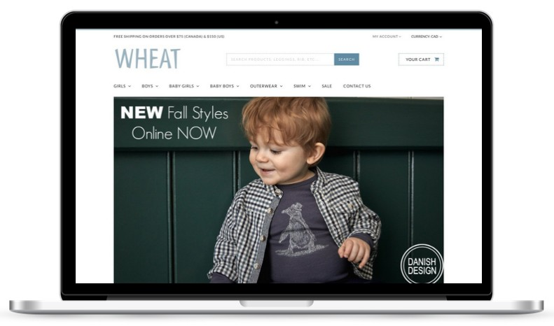 Wheat - Children's Clothing