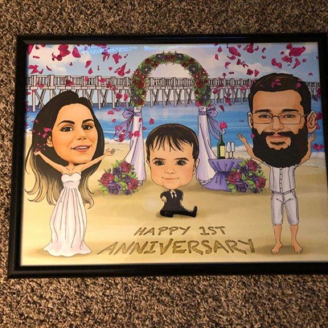 first-anniversary-gift-caricature-customers-photo.jpg