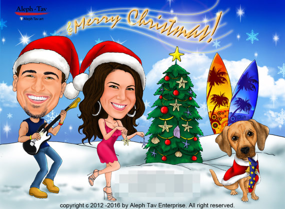 christmas-couple-caricature-holiday-gifts.jpg