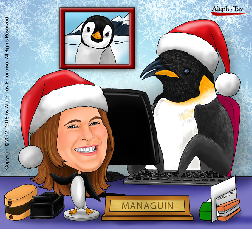 christmas-gifts-colleague-caricature.jpg