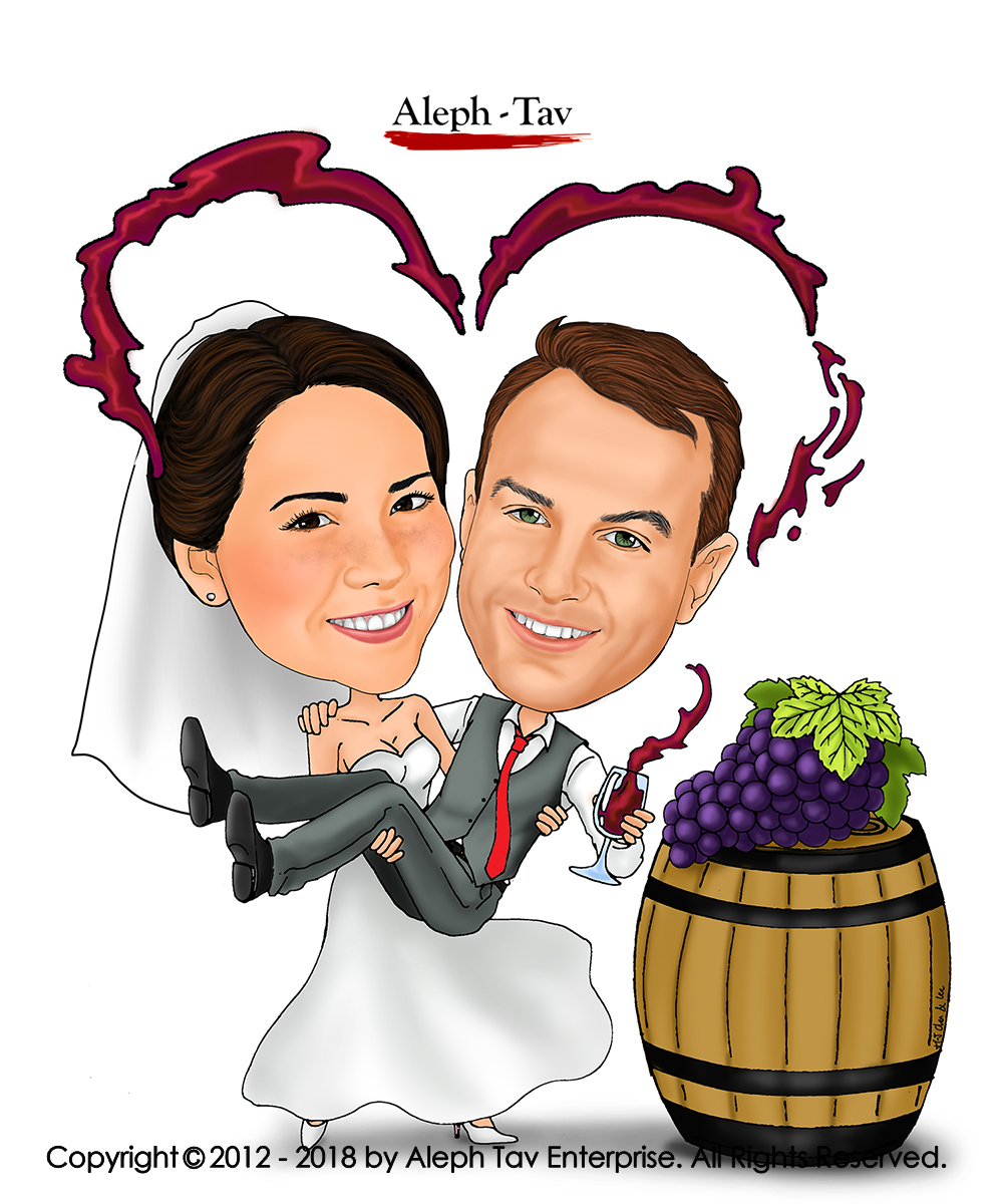 save-the-date-american-couple-caricature.jpg
