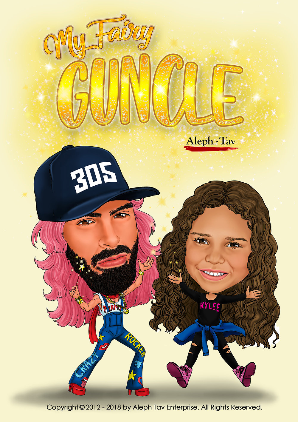 youtube channel profile caricature design for entertainer.jpg