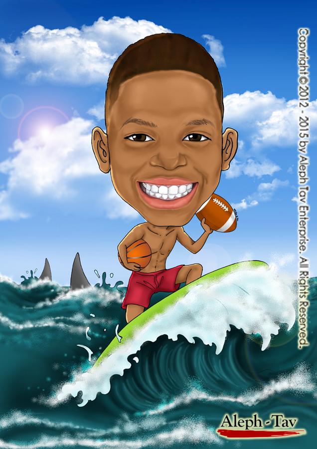 surfing-boy-sea-miami-beach-caricature.jpg