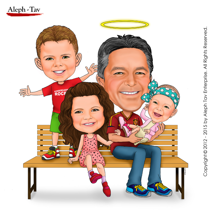 family-caricature-gifts-for-dad.jpg