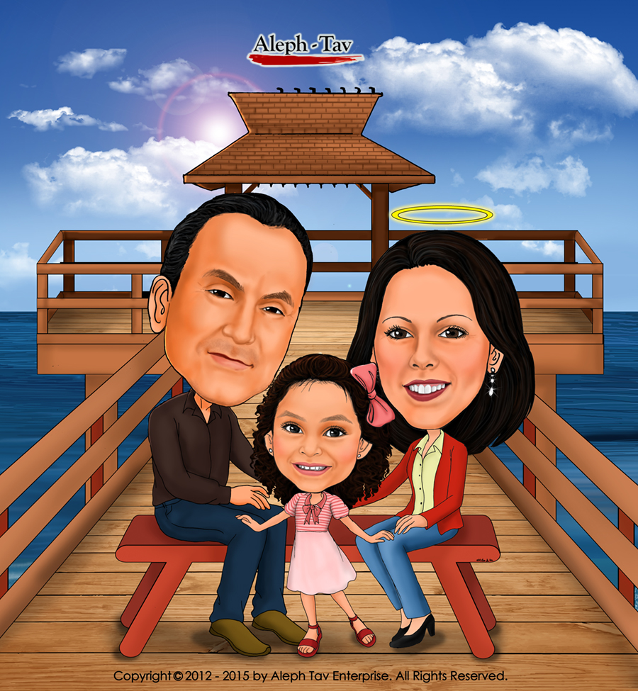 memorial-gift-for-dad-family-caricature.jpg