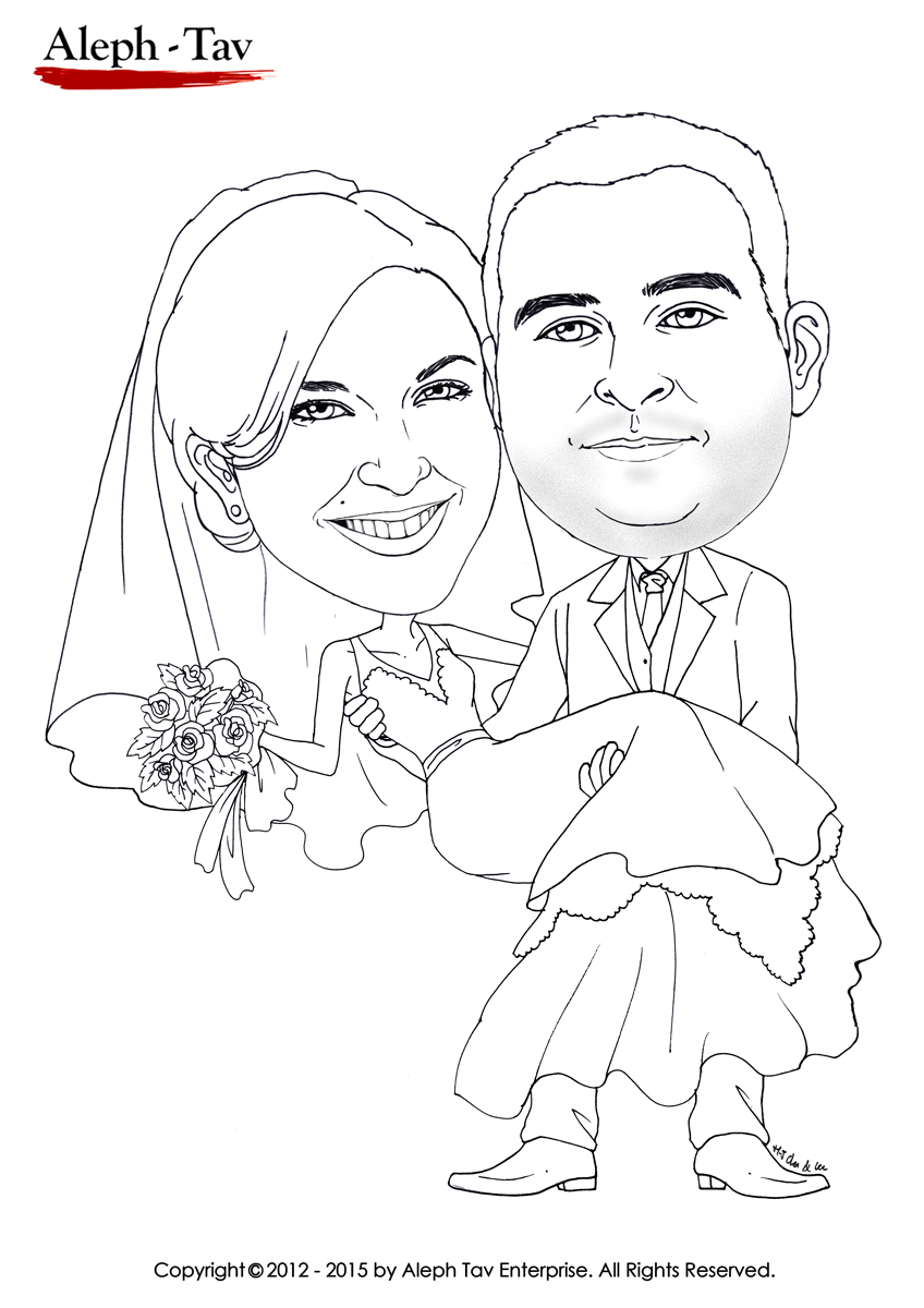black -and-white-caricature-couple-weding-coloring.jpg