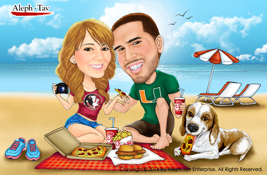 first-date-couple-valentines-gift-beach-miami.jpg