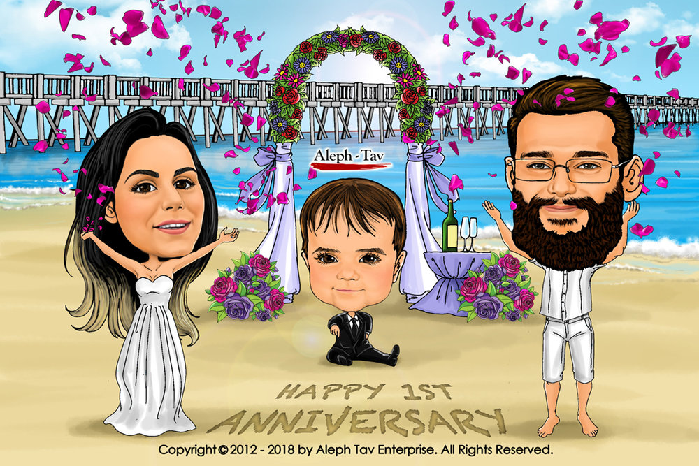 first-anniversary-gifts-caricature.jpg