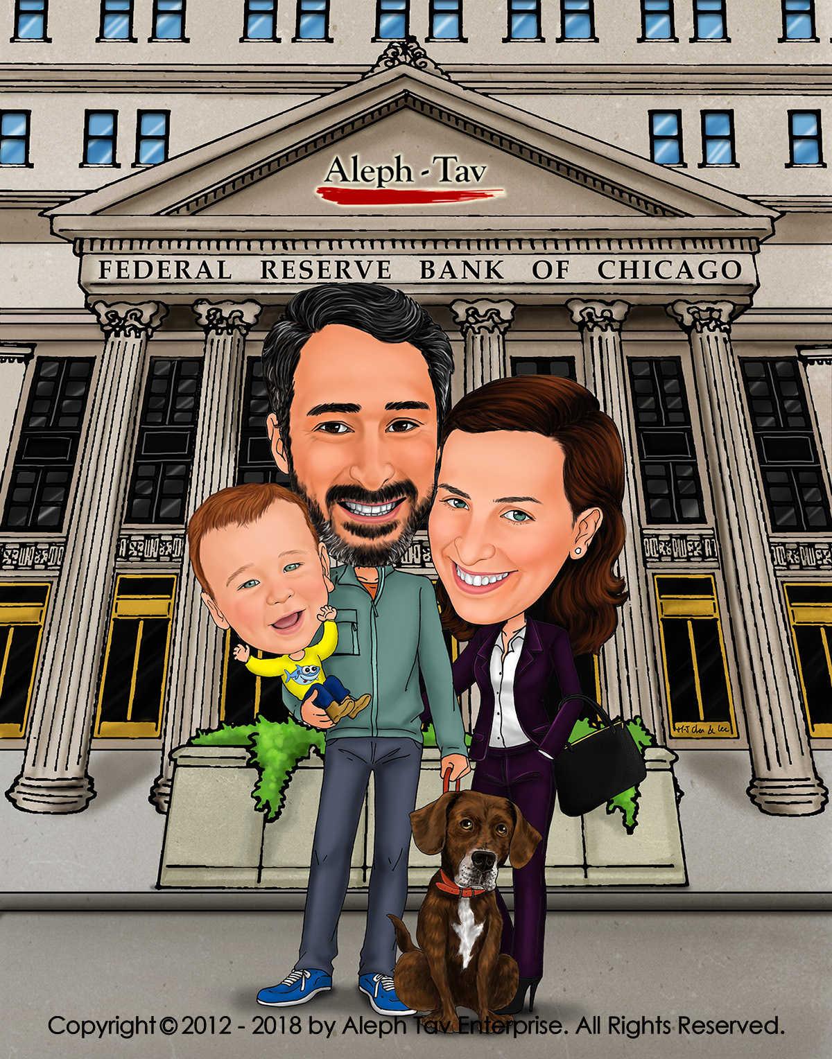 Customize Digital Caricature For Mother S Day Perfect For Wife And Mom Caricature Story Caricature Story Blog Creative Unique Gift Of Personalize Digital Art Cartoon Portraits