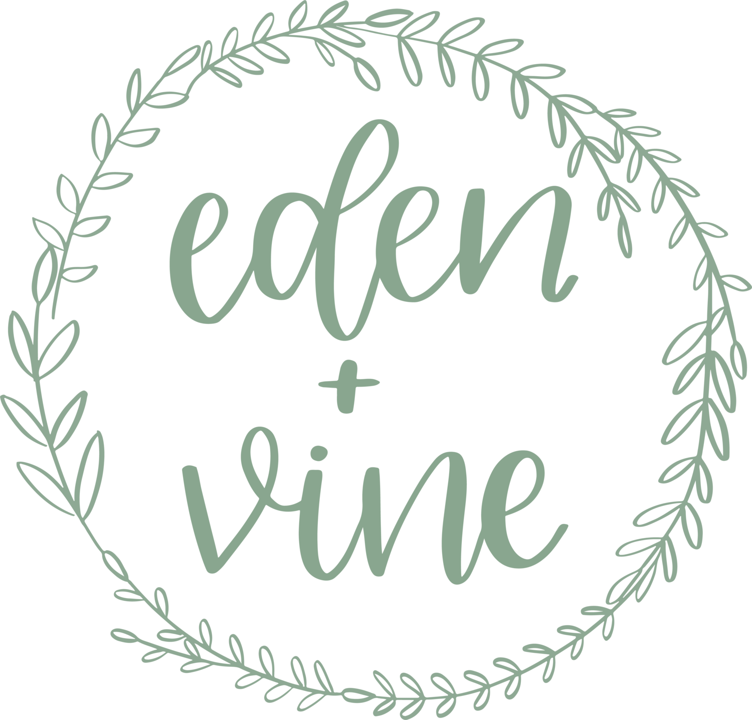 Official Site of Eden + Vine - Handlettering and Wedding Services