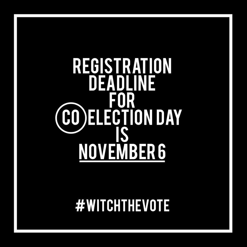 Colorado Voter Registration Deadline