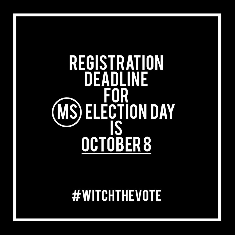 Mississippi Voter Registration Deadline