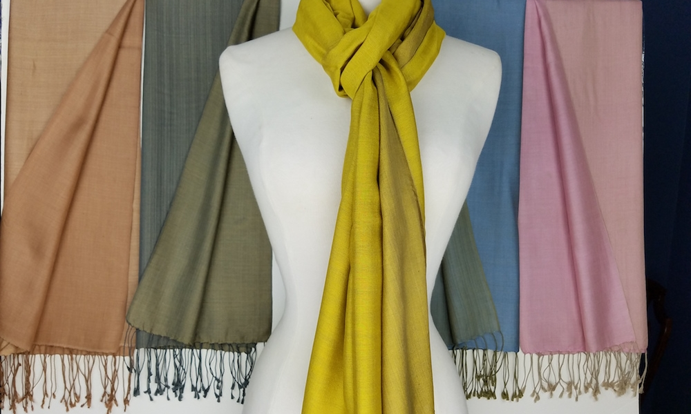 Get the Look - Scarves and Shawls Woven by Hand in Nepal