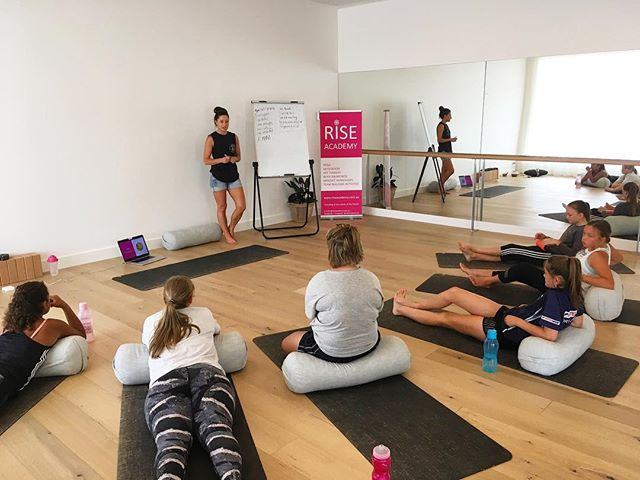 I AM.. Loved  Kind Beautiful Smart AMAZING! 💗 Some of the words the teenage girls came up with today during Verity's mindset workshop at our RISE School Holiday Program @solfityoga ...................................................................... 💗 www.riseacademy.com.au