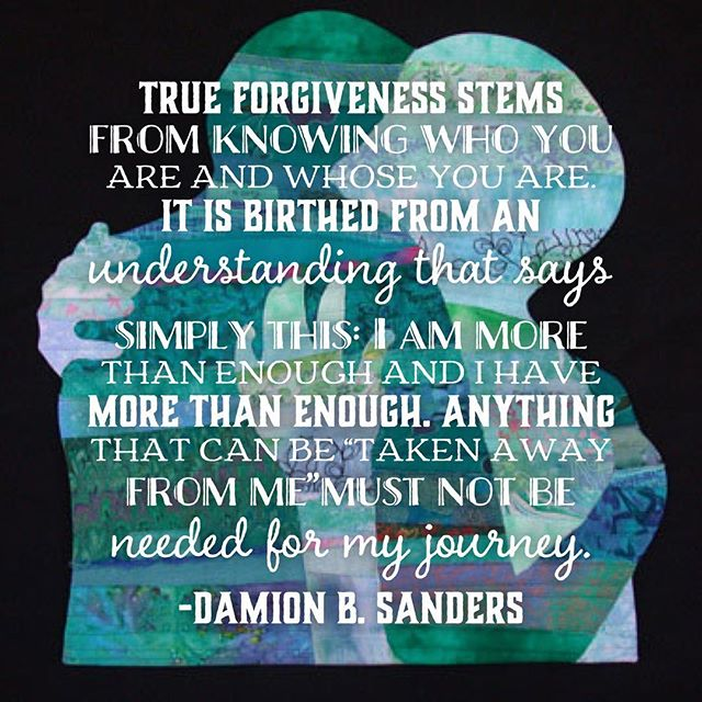 "Many of this world's ails stem from ""unforgiveness."" Unforgiving is rooted in self doubt. #damionbsanders #bakersofbread #favoriteinstagrampa #beautyforashes #theindelible #iamgodlyambition #healingisinthebuilding"