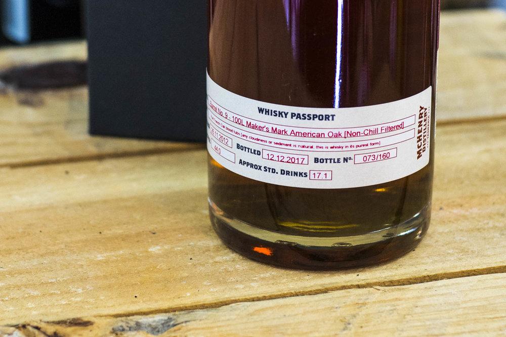 McHenry Whisky Batch #9