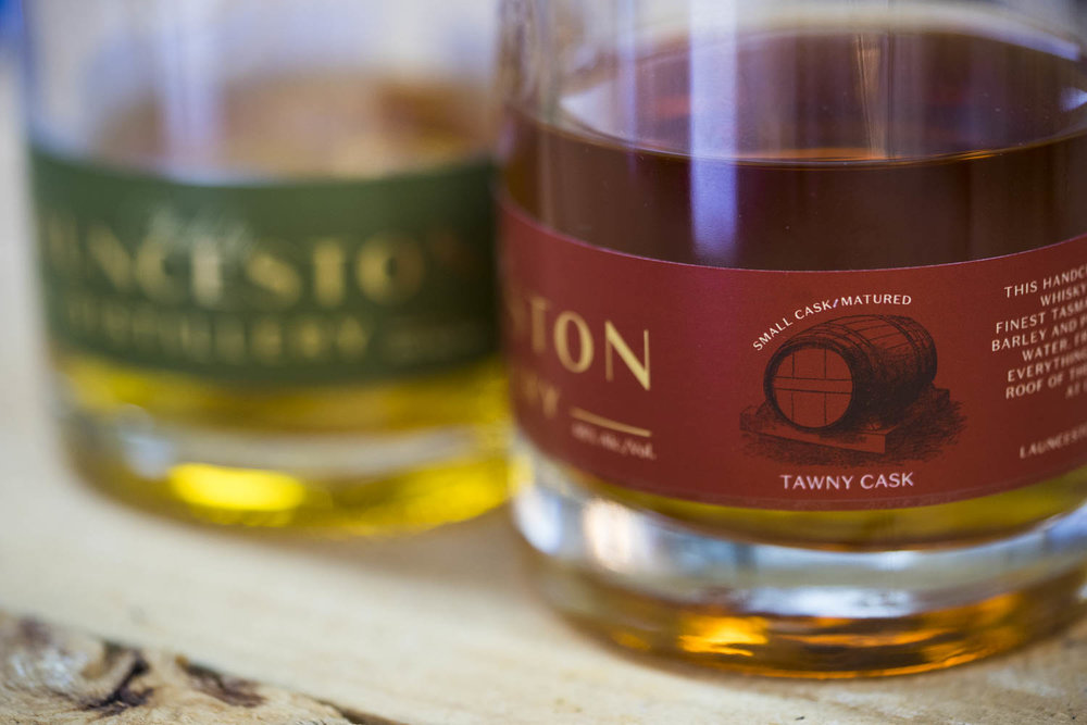 Launceston Distillery Whisky First Release Tawny Cask