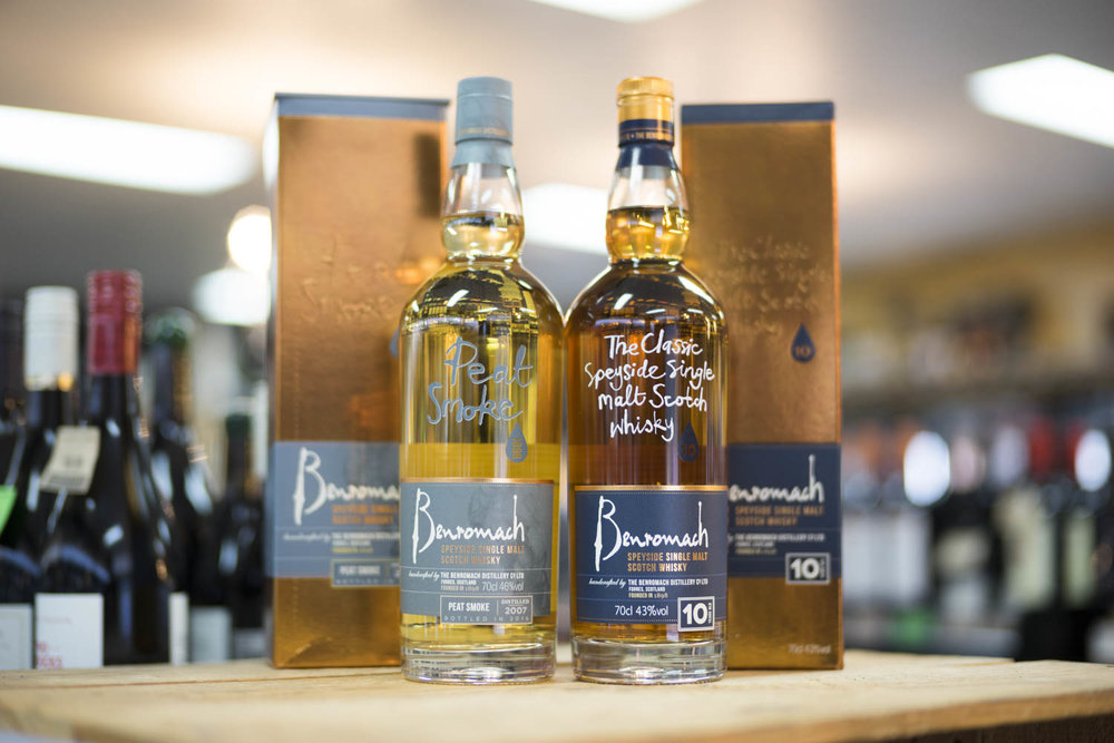 Benromach Peat Smoke & 10YO Whisky