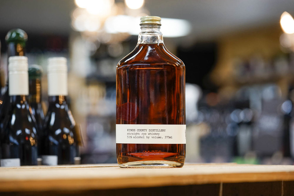 Kings County Straight Rye Whiskey Batch #2 375mL