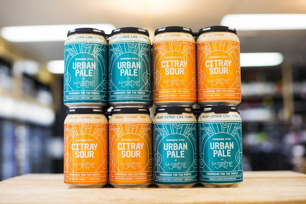 La Sirene Urban Pale Ale & Citray Sour